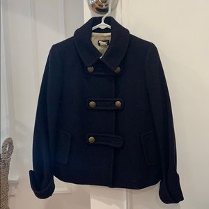 Jcrew wool pea coat